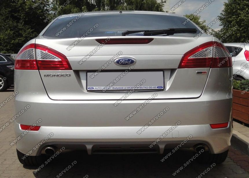 prelungire spoiler tuning sport bara spate ford mondeo mk4. Black Bedroom Furniture Sets. Home Design Ideas