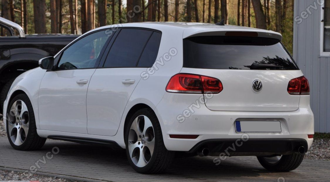 eleron spoiler tuning sport volkswagen vw golf 6 gti gtd. Black Bedroom Furniture Sets. Home Design Ideas