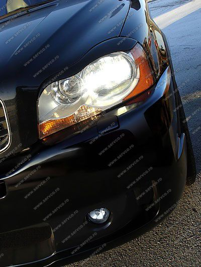 Set ornamente pleoape faruri Volvo XC90 2002-2014 v1