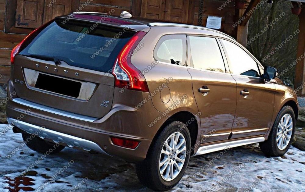 Prelungire tuning sport spoiler bara spate Volvo XC60 2008-2014 ver1