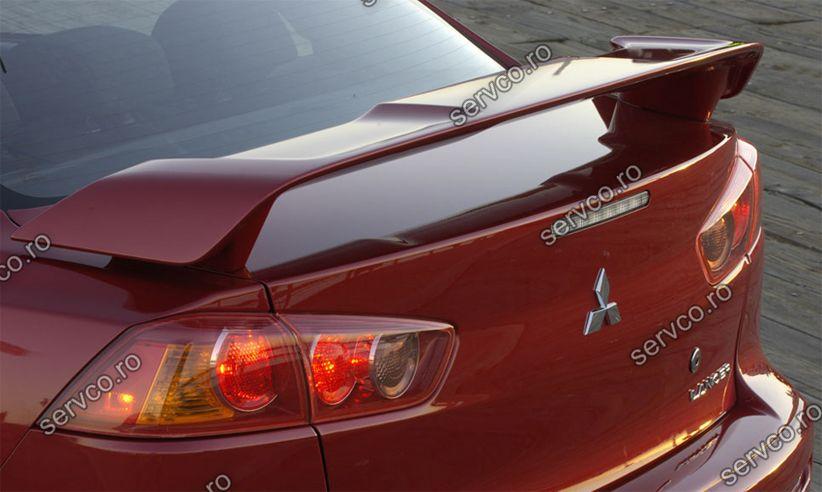 Eleron tuning sport spoiler Mitsubishi Lancer GTS Evo X CY2A CZ4A 2007-2017 ver1
