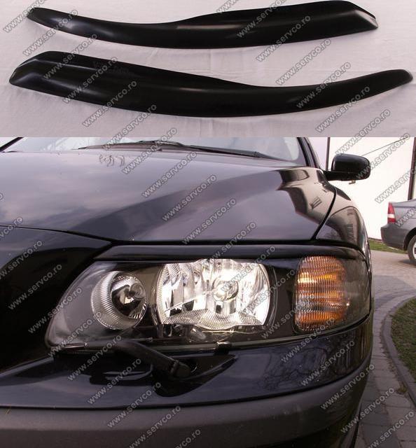 Set ornamente pleoape faruri Volvo XC70 2001-2007 ver2