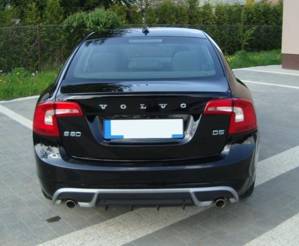 Prelungire tuning sport bara spate Volvo V60 R 2010-2014 ver3