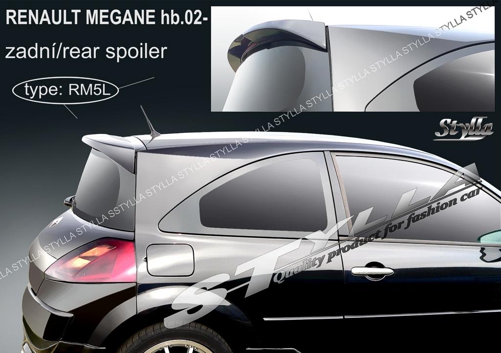 eleron spoiler tuning sport renault megane 2 hatchback. Black Bedroom Furniture Sets. Home Design Ideas