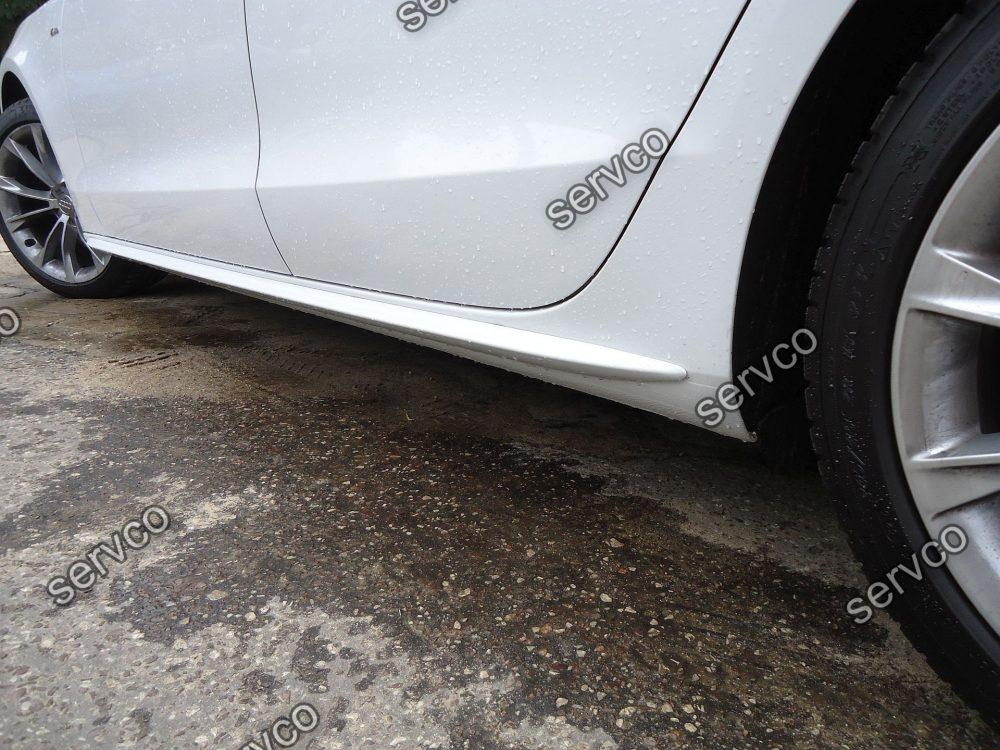 Praguri bandouri S Line Sline S-line Audi A4 B8 8K B9 8W S4 RS4 A5 8T 8TA S5 RS5 A6 4F C6 A6 4G C7 S6 RS6 A7 4G S7 RS7 A8 D4 8H S8 2008 2009 2010 2011 2012 2013 2014 2015 2016 2017