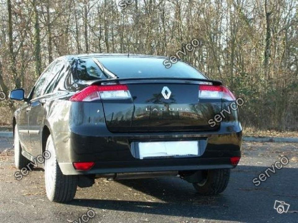 Eleron spoiler tuning sport portbagaj Renault Laguna 3 Liftback Sedan GT 2007-2015 ver1