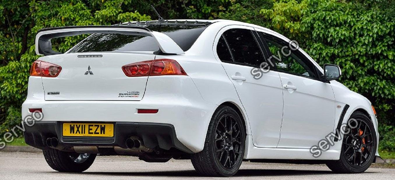 Eleron Spoiler Tuning Sport Portbagaj Mitsubishi Lancer Evo X Gts Evolution 10 Gsr Mr Cy2a Cz4a