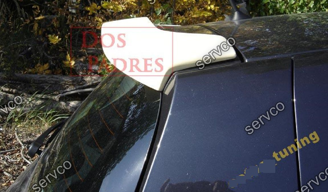 Eleron spoiler tuning sport Renault Clio 3 Mk3 RS GT 182 Hatcback 2005-2014 ver1