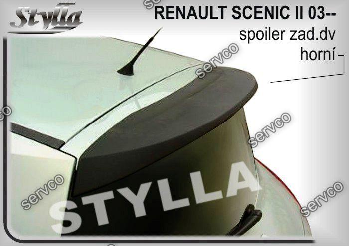 Eleron spoiler tuning sport haion Renault Grand Scenic Mk2 2003-2009 ver1