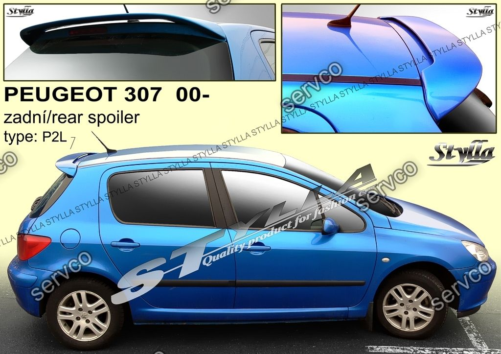 eleron spoiler tuning sport peugeot 307 vti gti wrc rally 2001 2008 ver1 servco tuning bazar. Black Bedroom Furniture Sets. Home Design Ideas