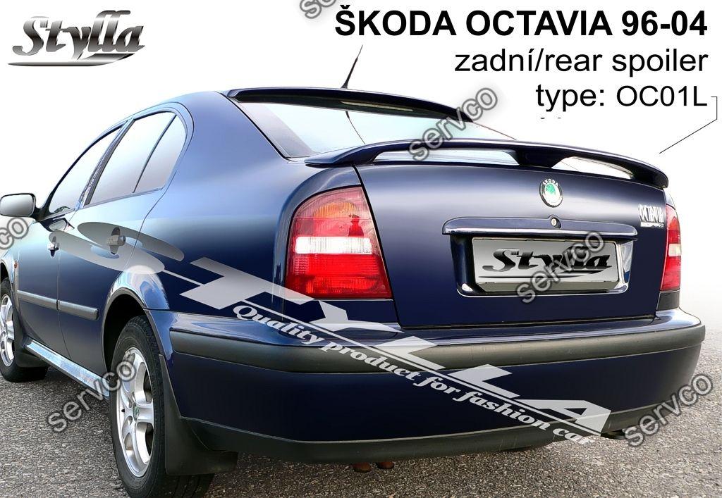 Eleron Spoiler Tuning Sport Portbagaj Skoda Octavia 1 Mk1 1u Wrc Rs Vrs 1996 2006 Ver5 Servco Tuning Bazar Servco Tuning Bazar