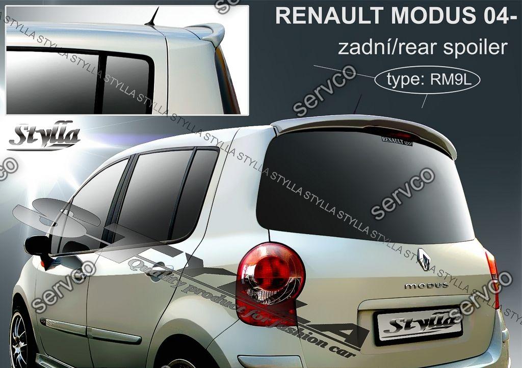 Eleron spoiler tuning sport Renault Modus RS Gordini 2004-2012 ver1