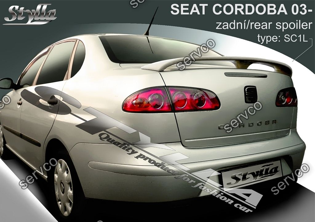 eleron spoiler tuning sport seat cordoba fr cupra r 2002 2009 ver1 servco tuning bazar. Black Bedroom Furniture Sets. Home Design Ideas