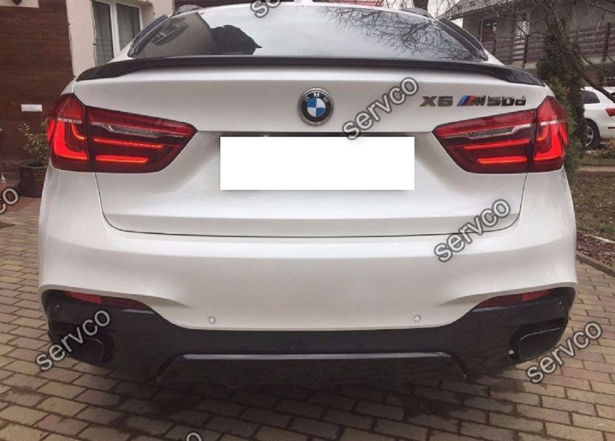 body kit pachet tuning sport bmw x6 f16 aero performance m pack x6 m 2014 2018 ver1 servco. Black Bedroom Furniture Sets. Home Design Ideas