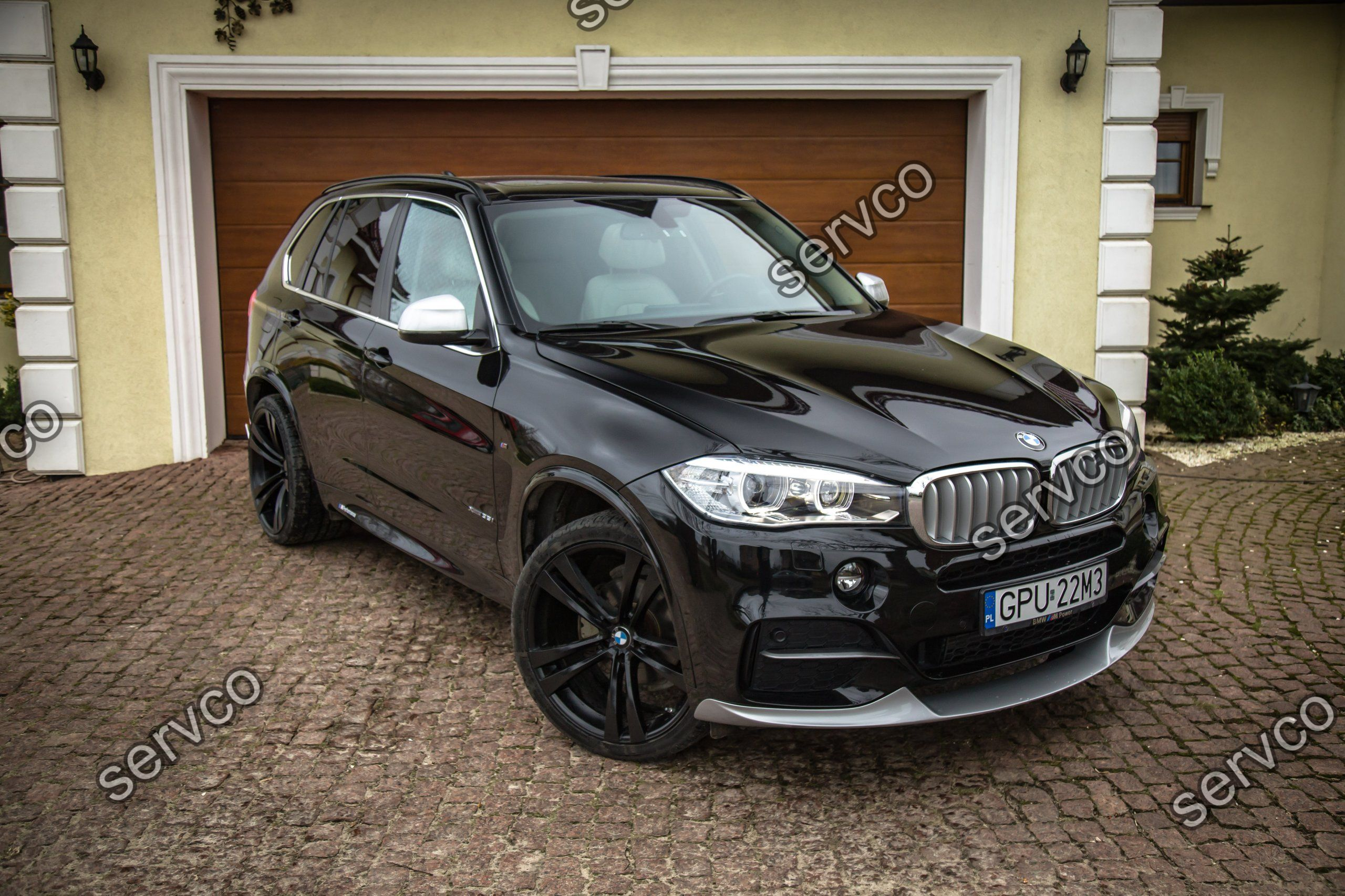 prelungire spoiler tuning sport bara fata bmw x5 f15 m50d. Black Bedroom Furniture Sets. Home Design Ideas