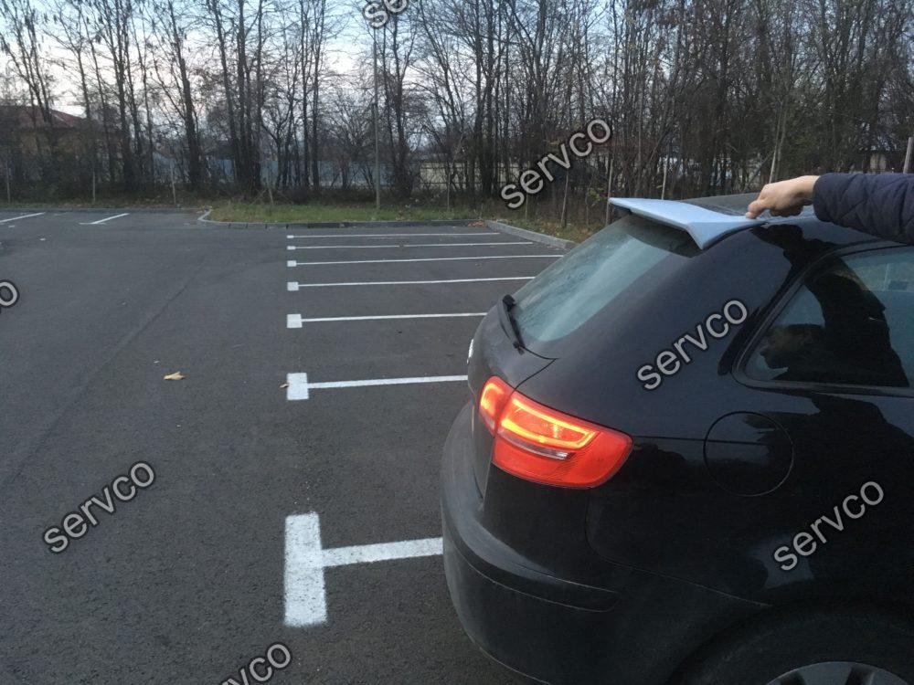 Eleron spoiler tuning sport Audi A3 8P Sportback RS3 S3 Votex Sline 2005-2012 ver3