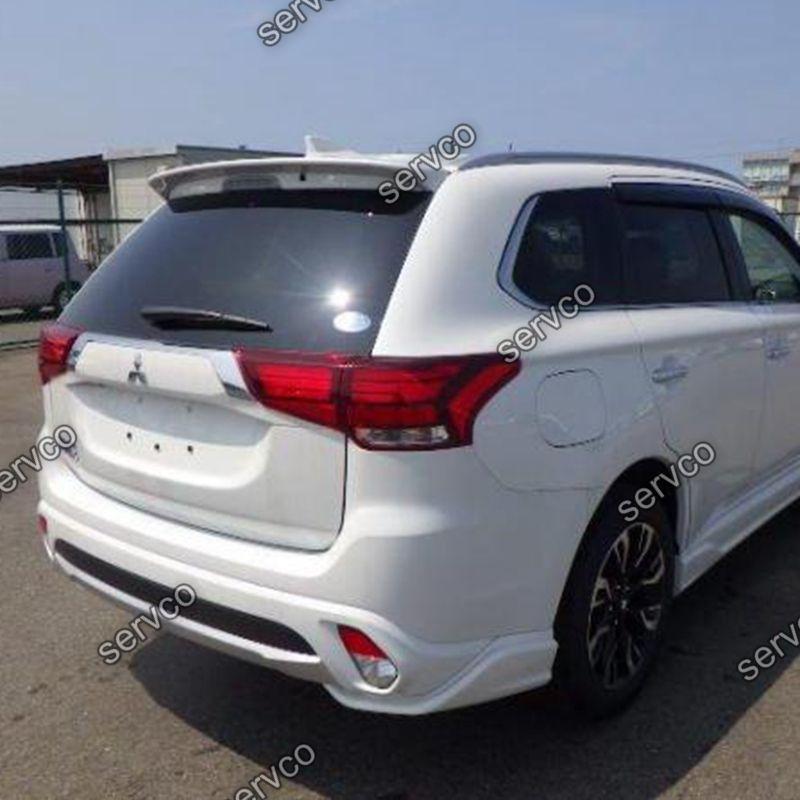 Eleron spoiler tuning sport Mitsubishi Outlander Mk3 2012-2018 ver2