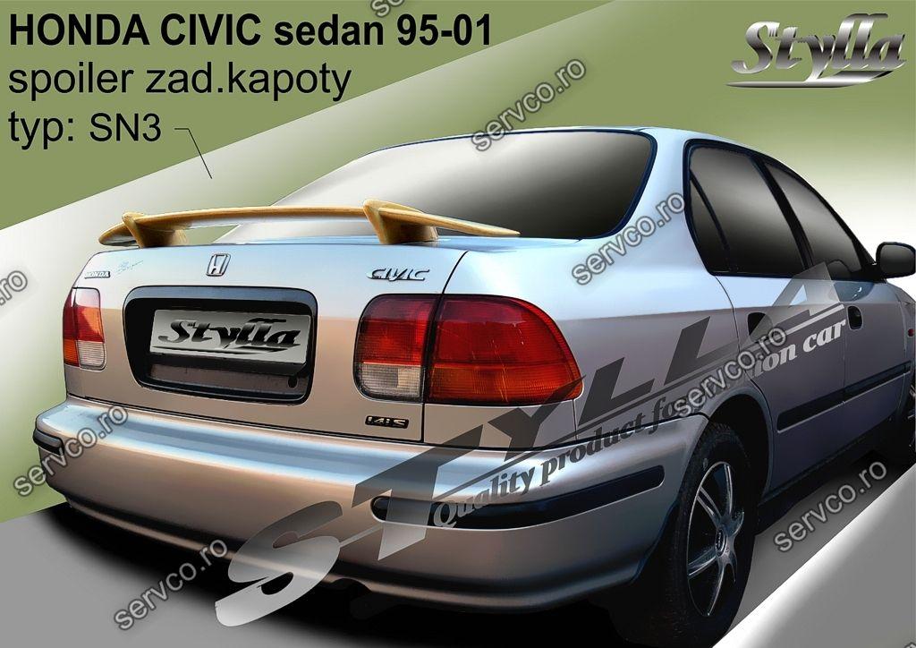 Eleron tuning sport portbagaj Honda Civic MK6 Sedan 1995-2001 v3