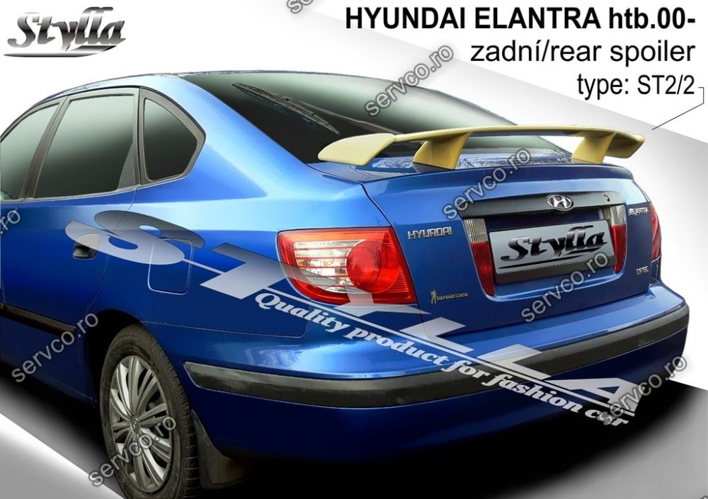 Eleron tuning sport portbagaj Hyundai Elantra HTB 2001-2006 v1