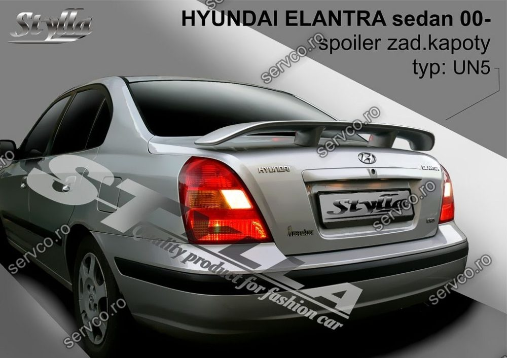 Eleron tuning sport portbagaj Hyundai Elantra Sedan 2001-2006 v2