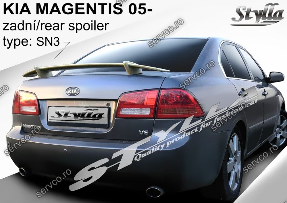 Eleron tuning sport portbagaj Kia Magentis 2005-2010 v1