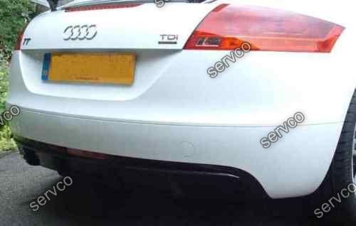 Difuzor bara spate Audi TT 8J Sline S ABT Ab look DTM votex TT S RS 2006-2014 v3