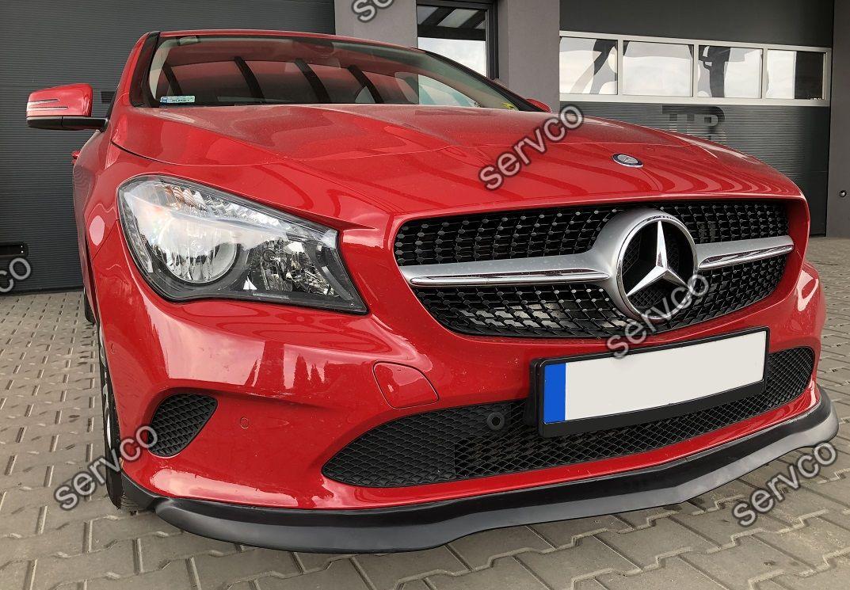 Prelungire tuning sport bara fata Mercedes CLA C117 Facelift AMG tuning sport 2017-2020 ver1