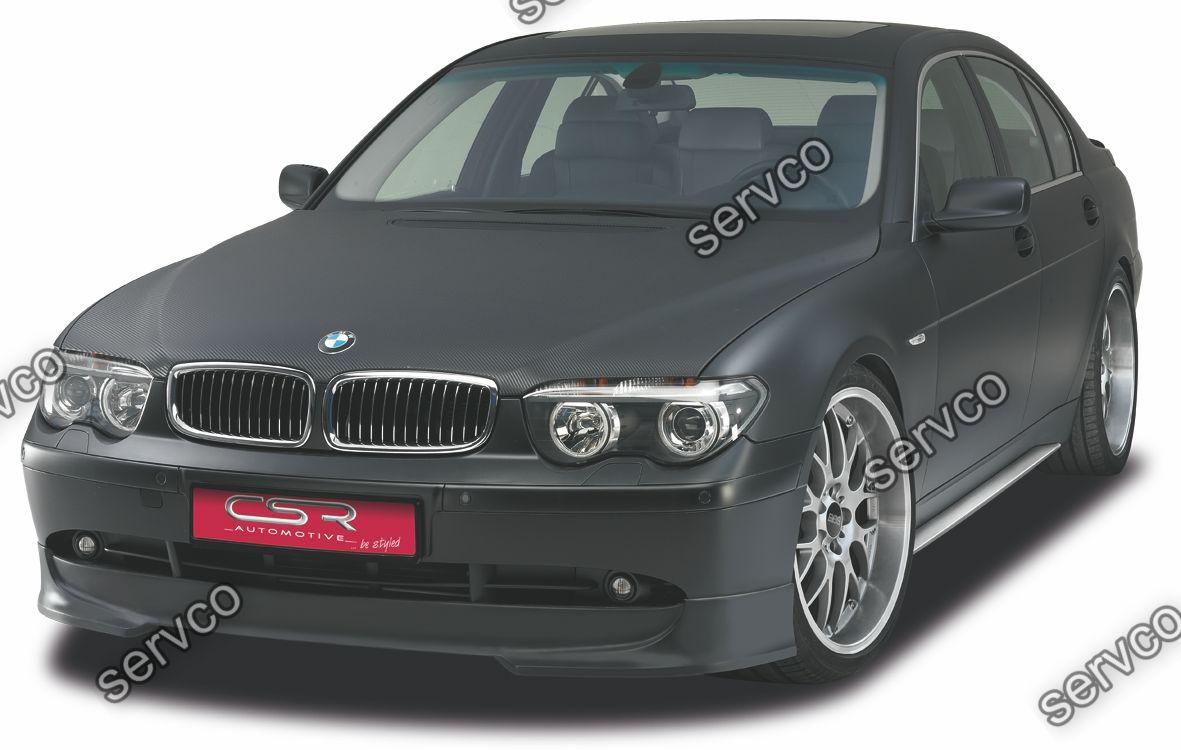 Prelungire tuning sport bara fata BMW Seria 7 E65 E66 CSR FA028 2001-2005 v1