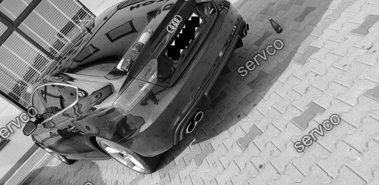 Difuzor bara spate Audi A5 Sportback Sline S5 ABT DTM 2012-2015 doar pt bara Sline S5 v10