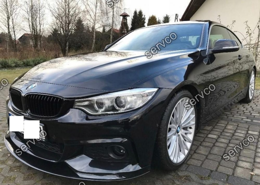 Prelungire tuning sport bara fata BMW Seria 4 F32 F33 F36 M Pachet Performance 2014- v5