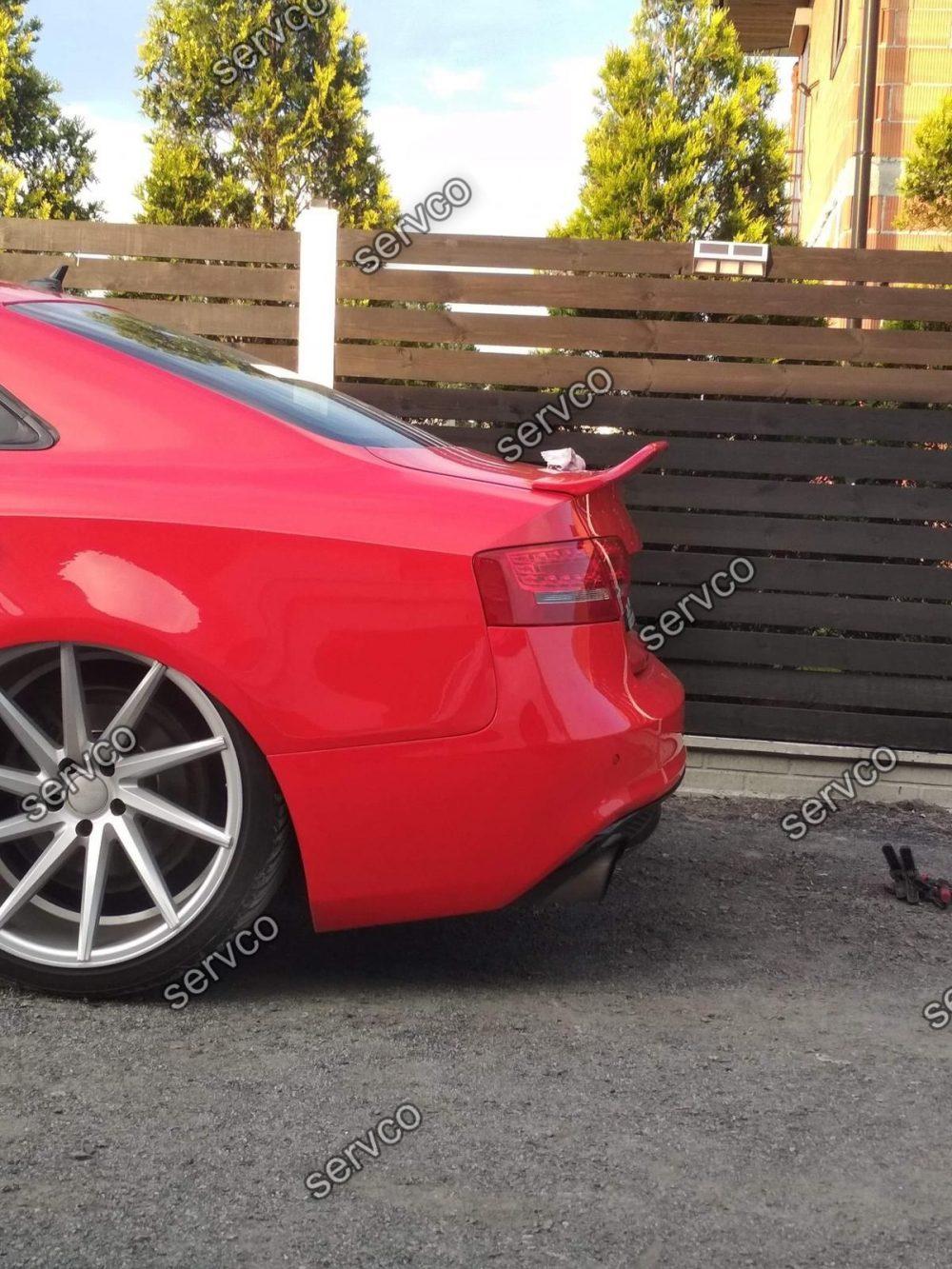 Eleron portbagaj tuning sport Audi A5 8T Coupe Ducktail 2007-2015 v6