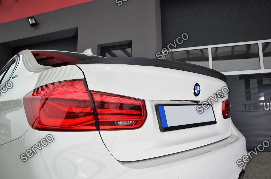 Eleron portbagaj tuning sport BMW Seria 3 F30 M3 Aero Mpachet Performance 2012-2016 v2