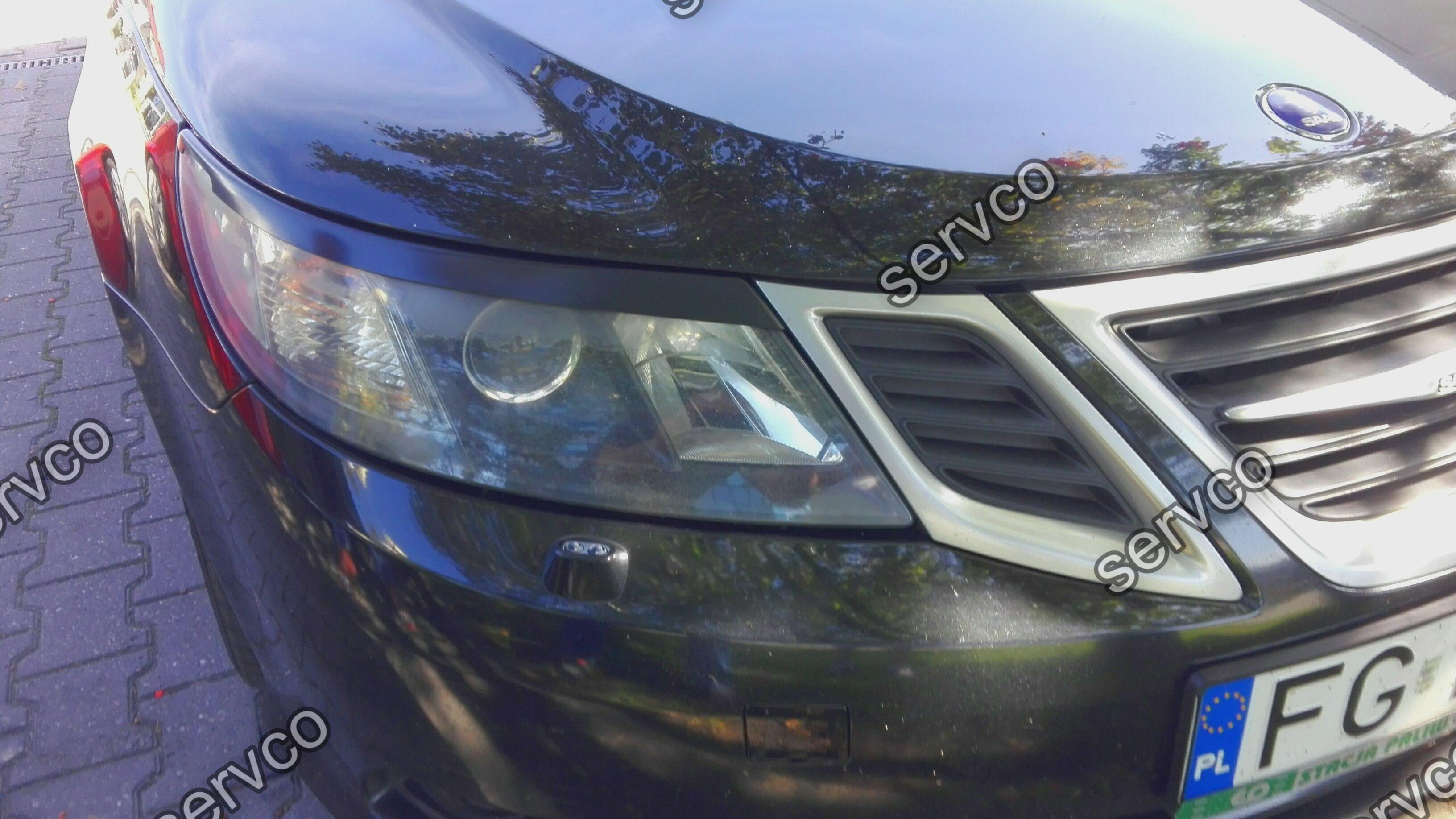 Set pleoape faruri Saab 9-3 Facelift 2007-2012 v1