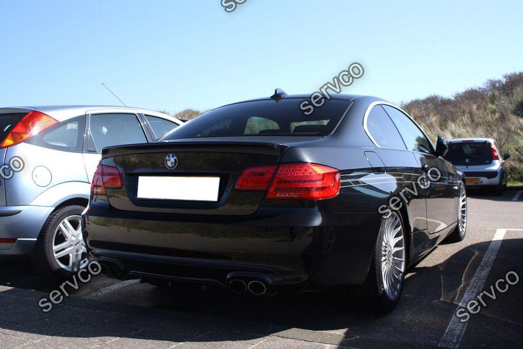 Difuzor tuning sport bara spate BMW Seria 3 E92 E93 2006-2013 v3