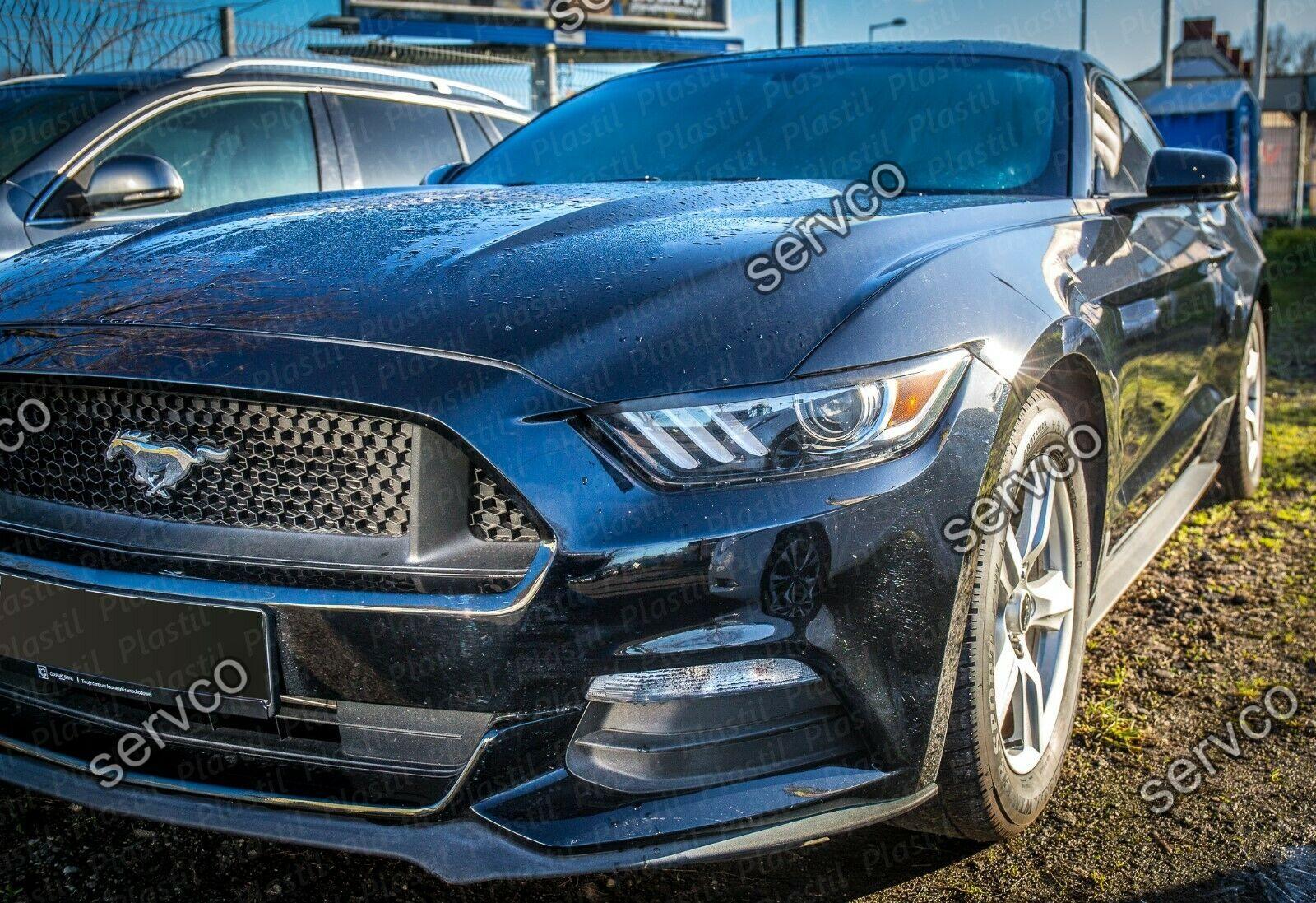 Set ornamente pleoape faruri Ford Mustang 2015-2020 v2