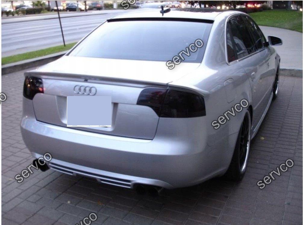 Difuzor prelungire bara spate Audi A4 B7 Sedan ABT AB Line RS4 S4 2005-2007 v2