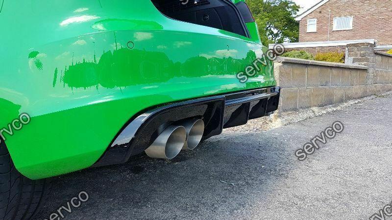 Prelungire difuzor bara spate Audi A3 8V Coupe Sportback 2012-2016 doar pt bara Sline DTM S3 RS3 v3