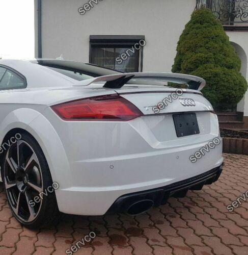 Prelungire difuzor bara spate Audi TT Mk3 FV 8S 2015-2018 doar pentru bara sline TT RS S DTM v5