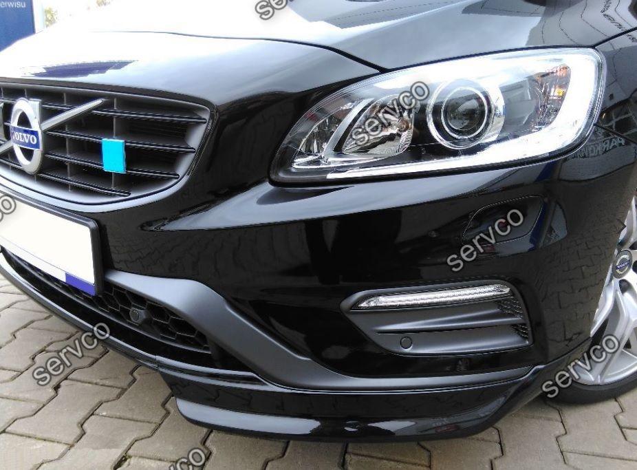 Prelungire tuning sport bara fata Volvo S60 R design 2010-2014 ver2
